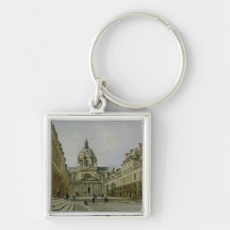 The Courtyard of the Old Sorbonne, 1886 Key Ring