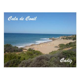 The Cove at Cala de Conil Postcard