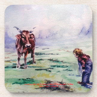 The cow and the boy/The cow and the I go Coasters