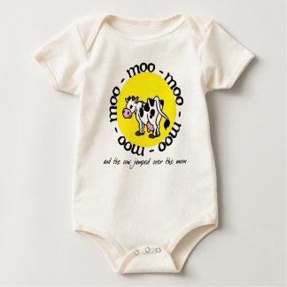 The Cow Jumped Over the Moon - Baby Bodysuit