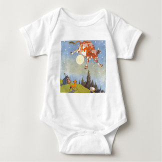 The Cow Jumped Over The Moon Baby Bodysuit