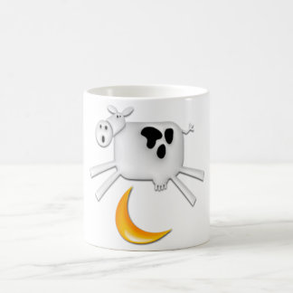The Cow Jumped Over the Moon Basic White Mug