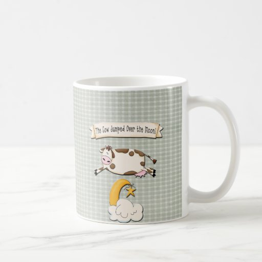 The Cow Jumped Over the Moon Mugs