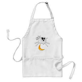The Cow Jumped Over the Moon Standard Apron