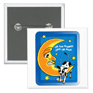 The cow slumped over the moon pin