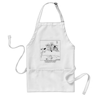 The Cow That Didn't Jump over The Moon Apron