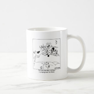 The Cow That Didn't Jump over The Moon Basic White Mug