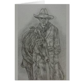 The Cowboy Way Notecard