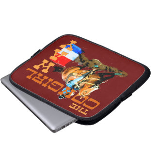 The Cowgirl Way -Barrel Racing Laptop Sleeve