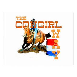 The Cowgirl Way gifts Post Card
