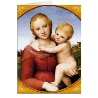 The Cowper Madonna Christmas Card