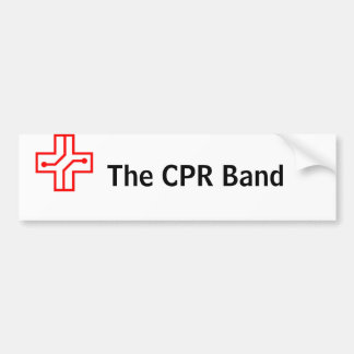 The CPR Band Bumber Sticker Bumper Sticker