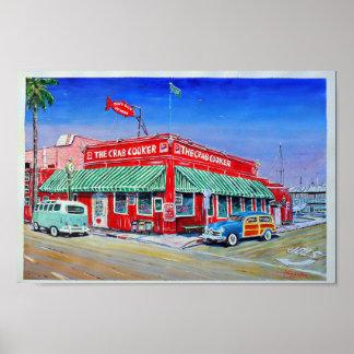 The Crab Cooker Newport Beach Poster