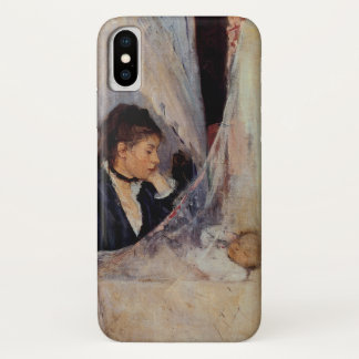 The Cradle by Berthe Morisot iPhone X Case