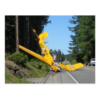 the crash postcard