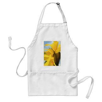 the crashing sun adult apron