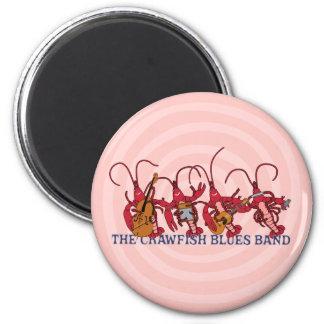The Crawfish Blues Band 6 Cm Round Magnet