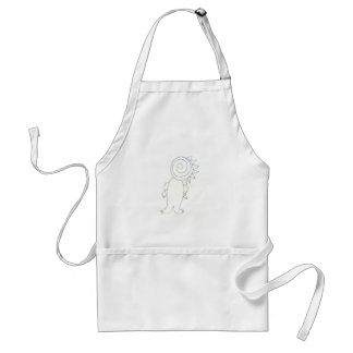 the crazy creature standard apron