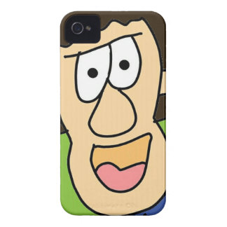 the crazy grandpa cartoon Case-Mate iPhone 4 case