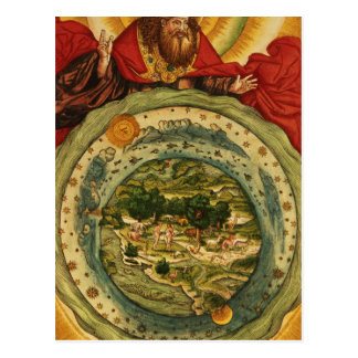 The Creation, from the Luther Bible, c.1530 Postcard