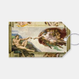 The Creation of Adam by Michelangelo Fine Art