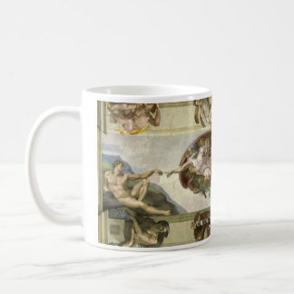 The Creation Of Adam Historical Mug