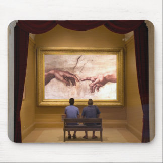 THE CREATION OF ADAM-MOUSEPAD MOUSE PAD