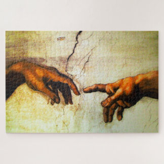 The Creation of Adam -Vatican Rome Jigsaw Puzzle