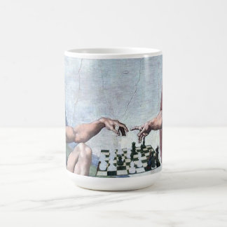 The Creation of Chess Mugs