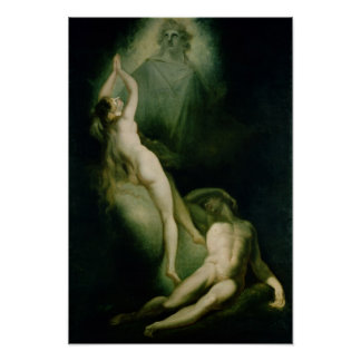 The Creation of Eve, 1791-93 Poster