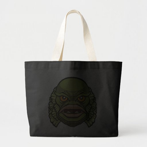 The Creature Canvas Bags