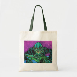 The Creature Lives Canvas Bag