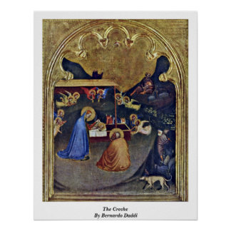 The Creche By Bernardo Daddi Poster