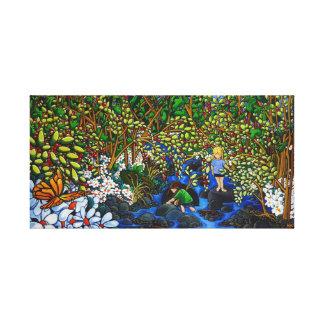 The Creek Canvas Prints