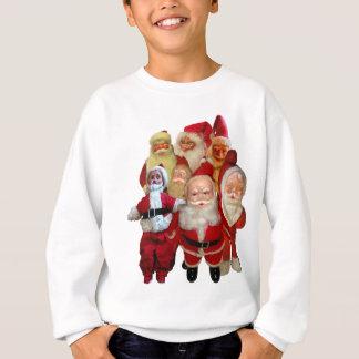 The Creepy Vintage Santa Gang Sweatshirt