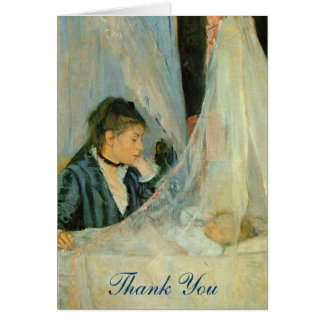 The Crib Thank you Card
