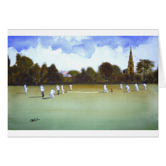 The Cricket Match Card