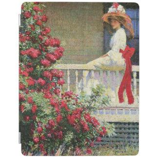 The Crimson Rambler Philip Hale Fine Art iPad Cover