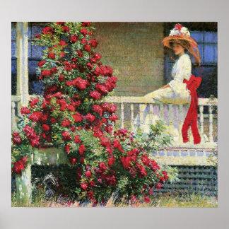 The Crimson Rambler Philip Hale Fine Art Poster