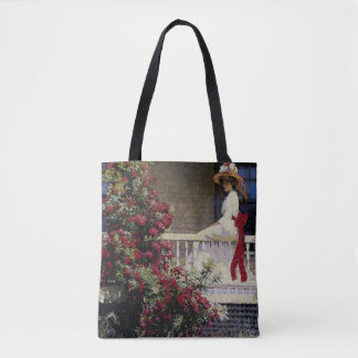 The Crimson Rambler Tote Bag