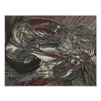 The Crimson Raven Poster