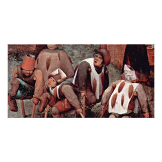 The Cripple By Bruegel D. Ä. Pieter (Best Quality) Picture Card