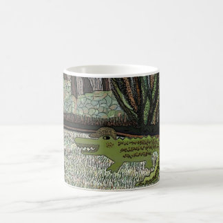 The Crocodile Walk Coffee Mug