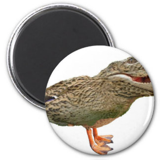 The Crocoduck with feet Refrigerator Magnets