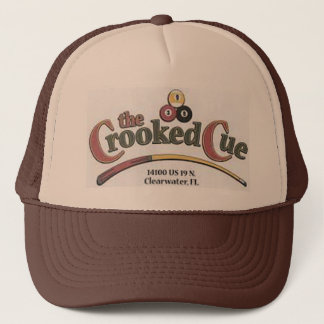 The Crooked Cue Trucker Hat