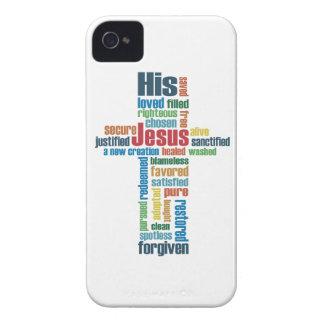 The Cross of Jesus iPhone 4 Cases