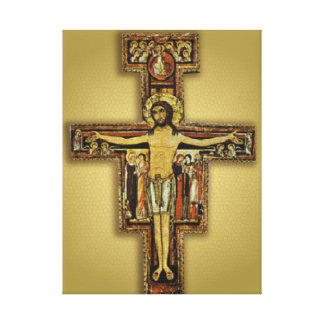 THE CROSS OF SAN DAMIANO GALLERY WRAPPED CANVAS