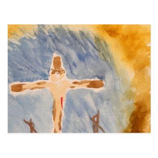 The Cross Postcard
