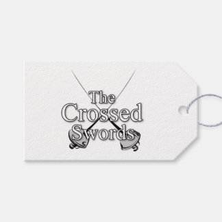 The Crossed Swords Gift Tags