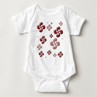 The crosses Basque 3D! Baby Bodysuit